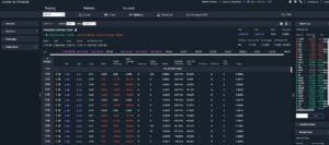 Trade Stock Options: Easy Guide How To - View of AMZN Option Chain as described in Trade Stock Options Article
