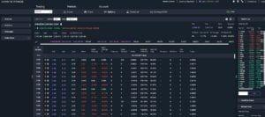 view of trading platform