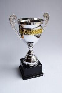 Trophy for Top 5 best stock trading platform