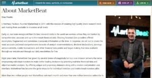 MarketBeat Daily Premium - About MarketBeat