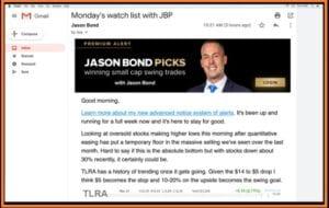 Jason Bond Picks Complaints – Daily Watchlist