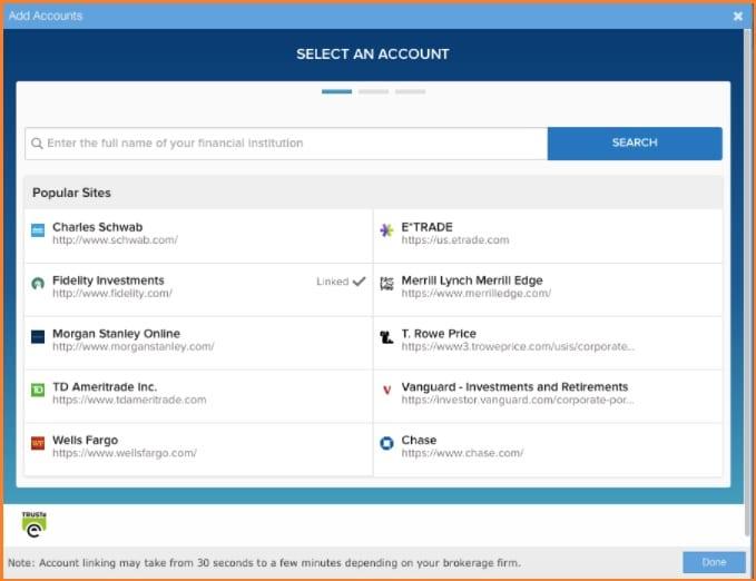 Stock Rover Screener - Stock Rover Brokerage Connect