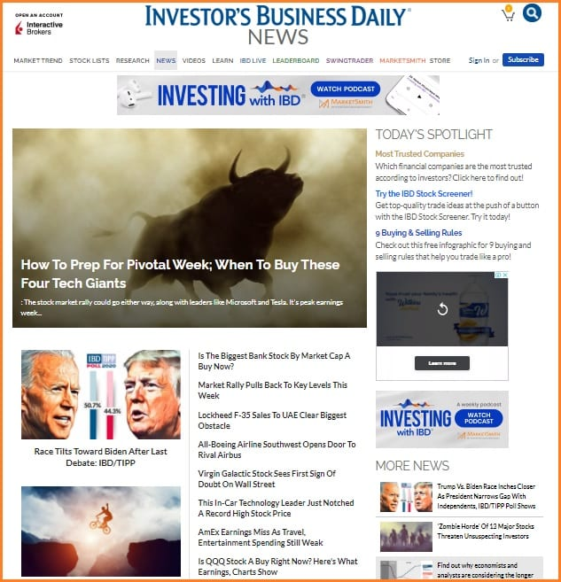 Investors Business Daily Reviews - Investor's Business Daily News