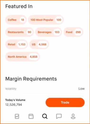 Robinhood Trading Platform -  Robinhood Analyst Recommendations