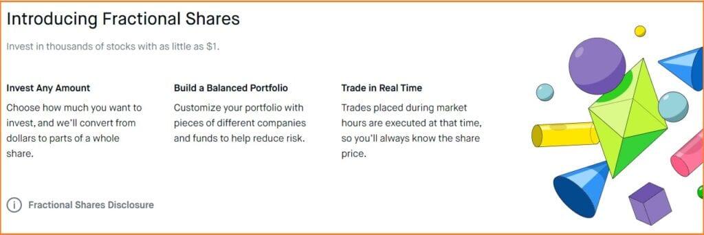 Robinhood Trading Platform - Robinhood Fractional Shares