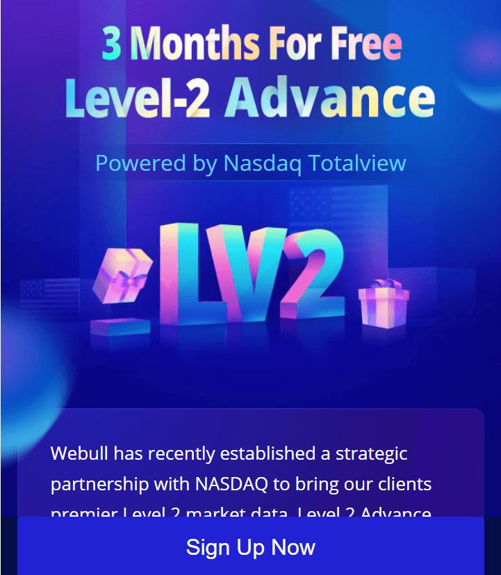 Webull vs Robinhood - Level 2 Data Access for 3 months