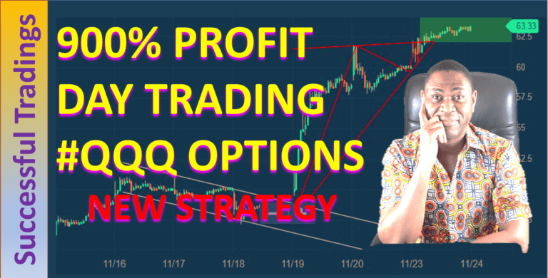 How TO Trade QQQ Options For Big Profit - 900% Gains