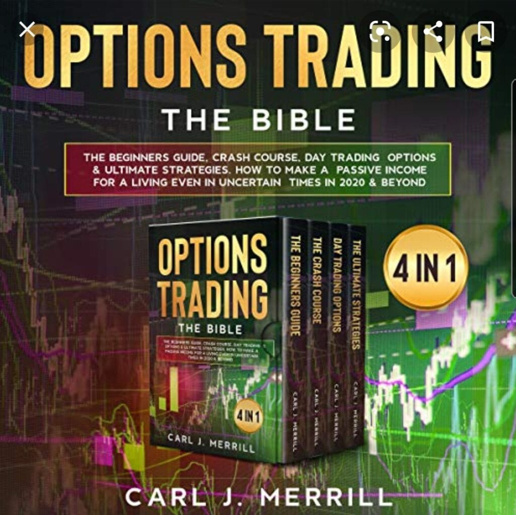 7 Must Read Options Trading Books for Beginners - Options Trading the Bible by Carl J. Merrill