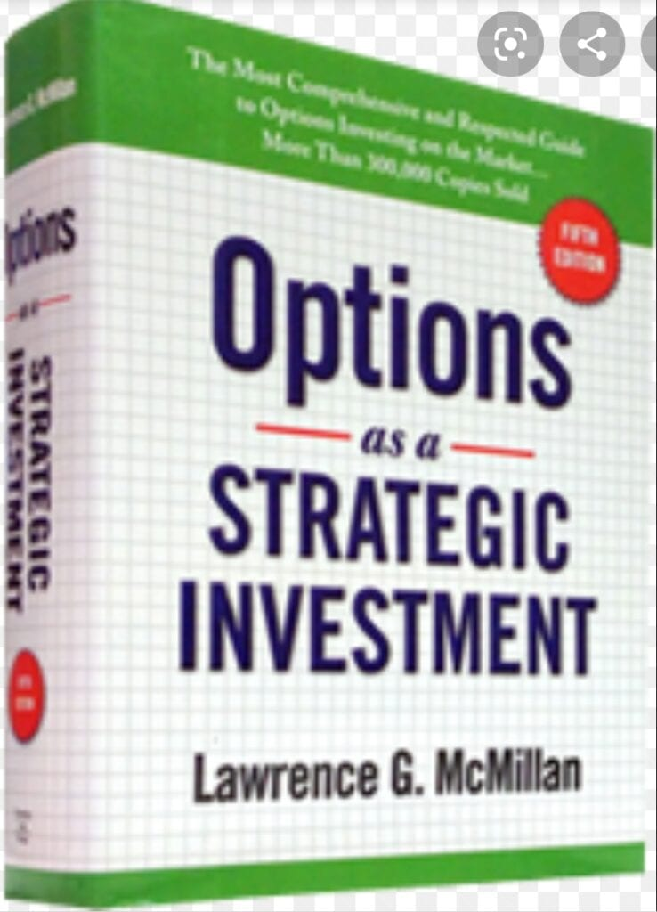 7 Must Read Options Trading Books for beginners - Options as a strategic investment by Lawrence G McMillan