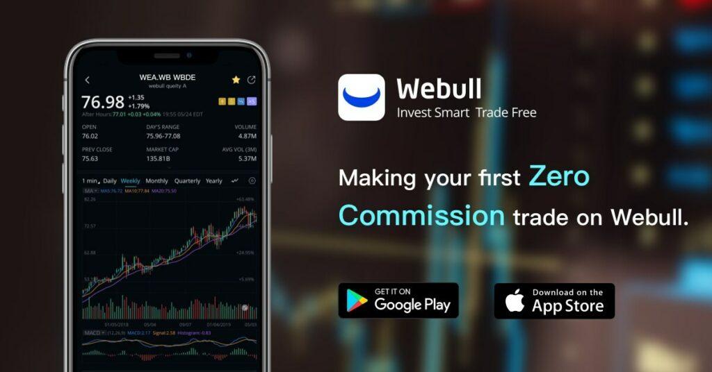 Top 7 Best Apps To Trade Stocks - WeBull Mobile App
