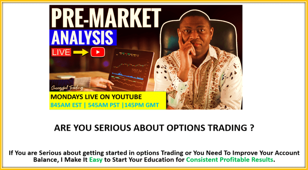 How TO Trade SPY for 100% Profit - Pre-MArket Analysis Live on YouTube Mondays Morning